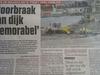 doorbraak-krantenartickel
